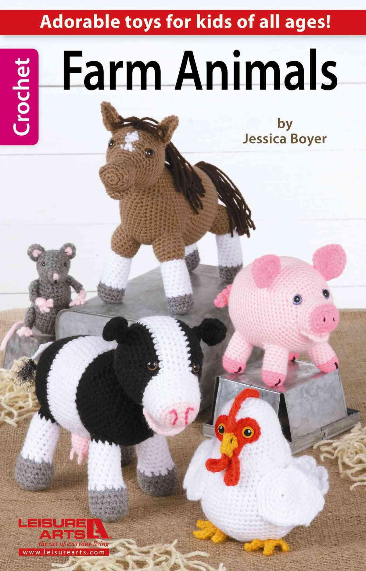 Farm Animals By Leisure Arts, Inc.